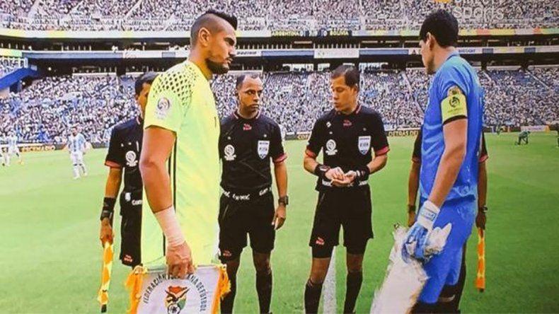 Romero fue capitán por segunda vez en la selección argentina
