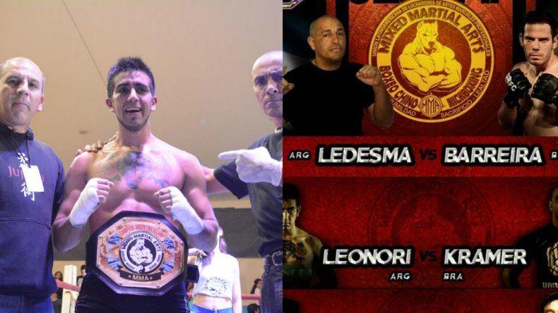 La Pantera Leonori busca el título Sudamericano ante Kramer