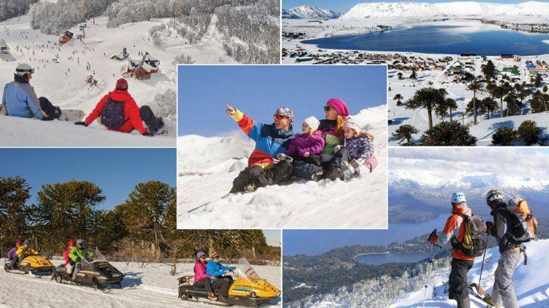 Top 5 para esquiar en Neuquén