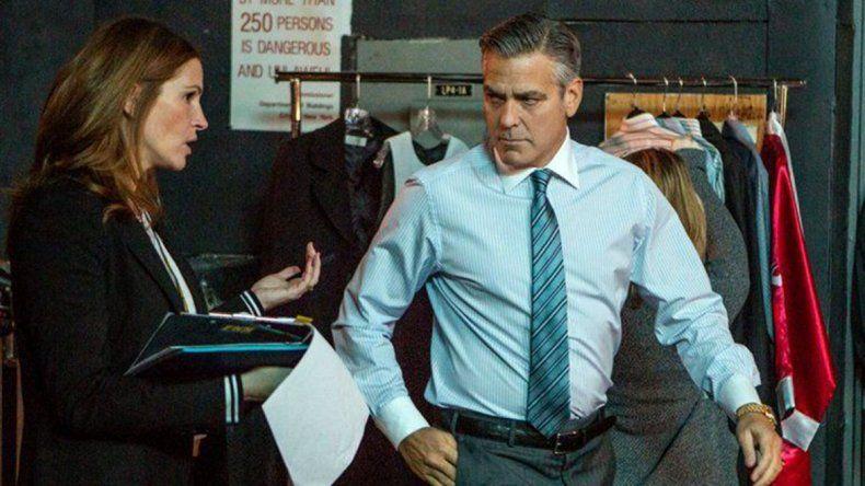 George Clooney y Julia Roberts protagonizan El maestro del dinero