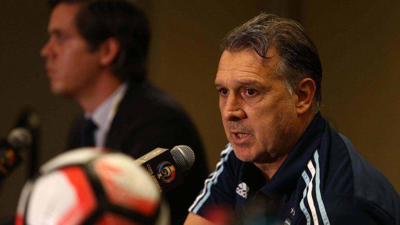 Gerardo Martino resaltó los méritos del equipo que dirige.