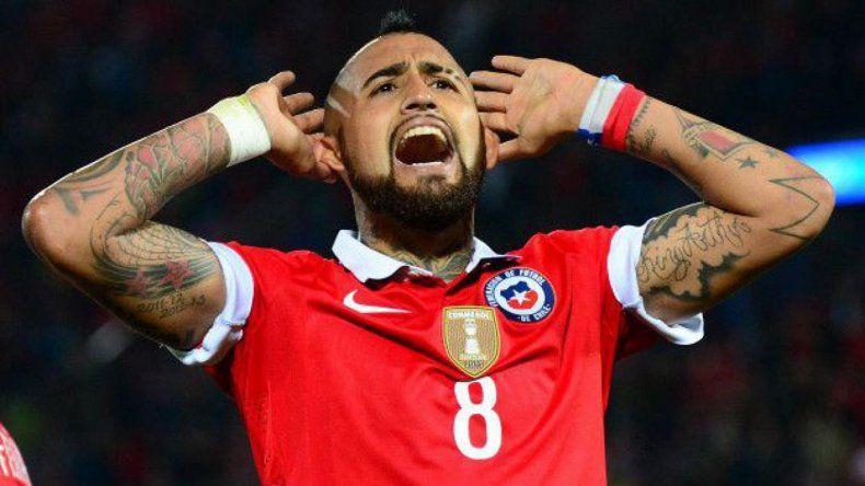 Vidal regresará al equipo chileno luego de la suspensión que purgó en las semifinales ante Colombia.