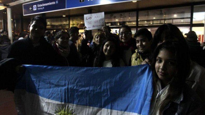 La Selección arribó a la Argentina