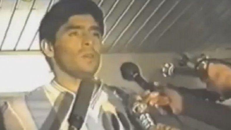 El día que Diego Maradona renunció a la Selección
