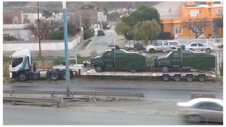 Las repercusiones de los camiones hidrantes en Comodoro