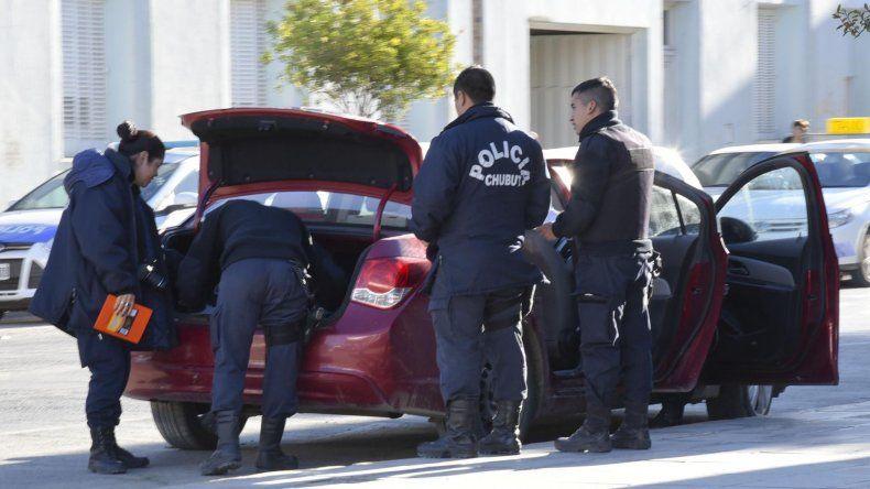 La policía requisó el vehículo ayer al mediodía