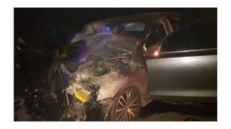 Choque frontal entre Comodoro y Caleta: 2 muertos y 4 heridos