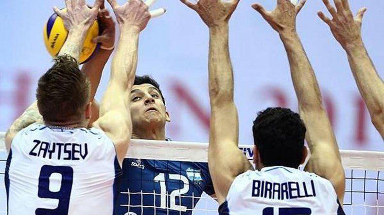 Argentina no pudo ante Italia y hoy tendrá un rival mucho más difícil: la invicta Serbia.
