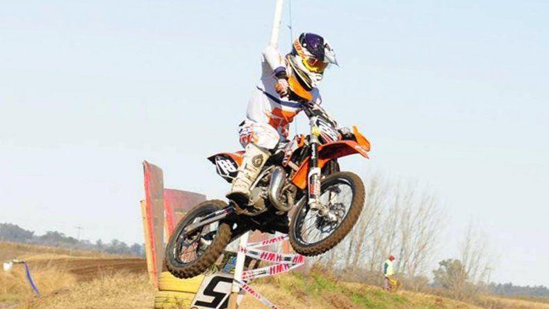 Tomás Brazao terminó entre los diez primeros de la categoría 85cc A en La Rioja.