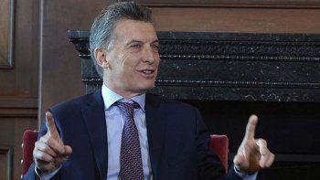 Todos los sectores de la exportación están funcionando mejor, dijo Macri.