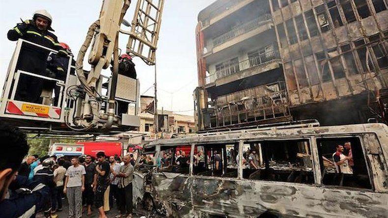 Al menos 119 muertos en un atentado en Bagdad