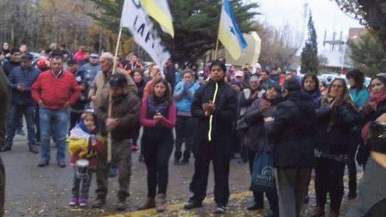 La marcha que los autoconvocados realizaron el 14 de mayo.