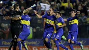 Boca viene de eliminar a Nacional de Montevideo, en una agónica definición desde el punto del penal.