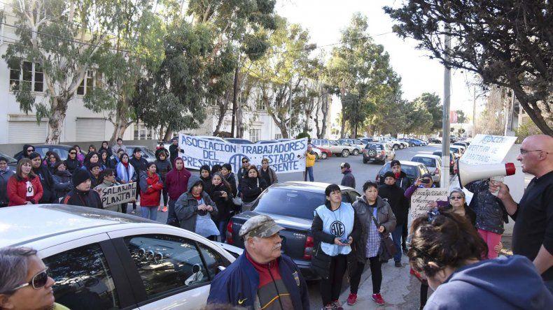 ATE se movilizó en el barrio General Mosconi