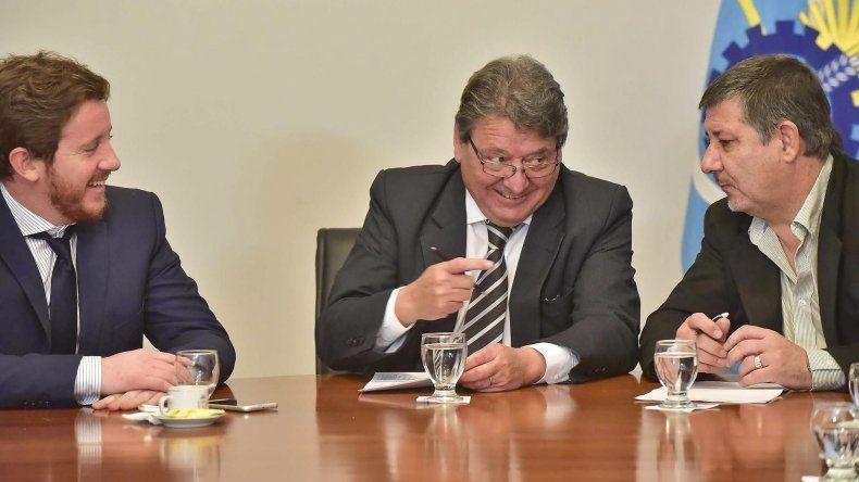 El ministro Coordinador de Gabinete