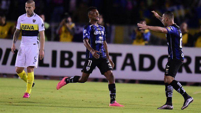 Boca cayó en la altura de Quito pero la serie quedó abierta