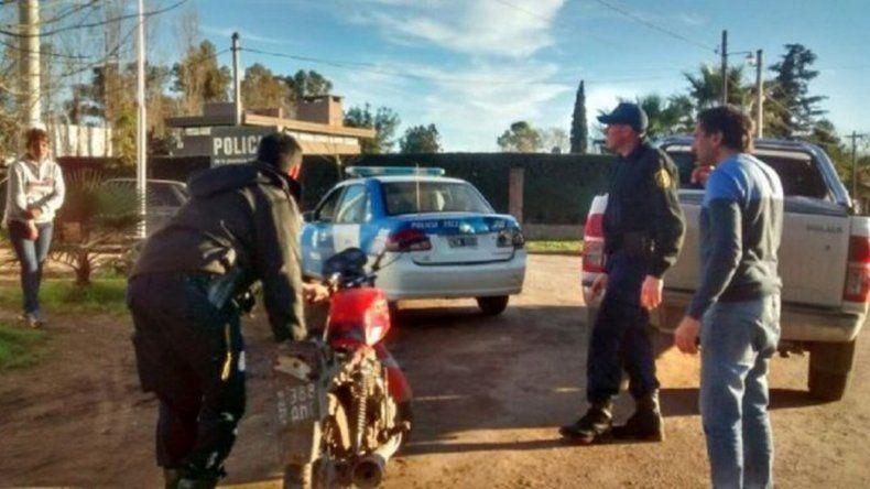 Intendente héroe: persiguió con su auto a dos ladrones