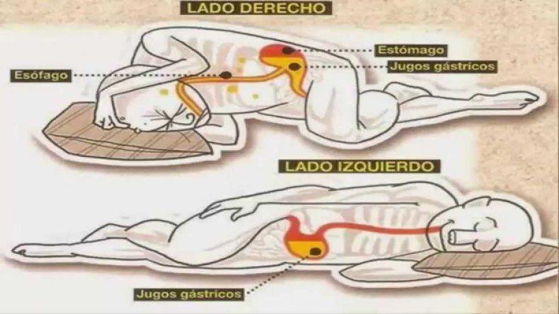 La mejor posición para dormir: de costado y hacia la izquierda