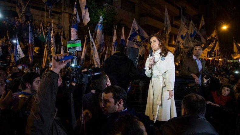 Cristina: Tarde o temprano la Patria siempre vence