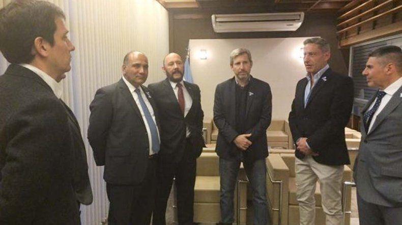 El vicegobernador Mariano Arcioni estuvo presente en Tucumán en el acto encabezado por el presidente Mauricio Macri.
