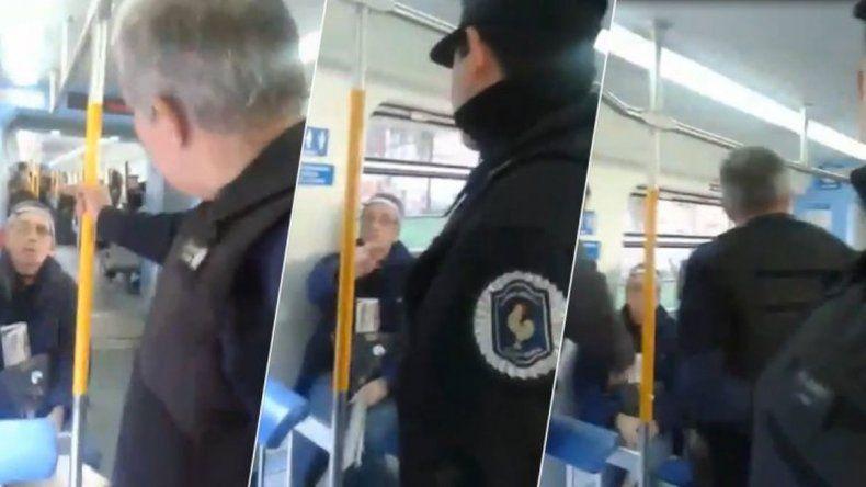 Dos policías intentaron detener a un hombre por criticar a Macri