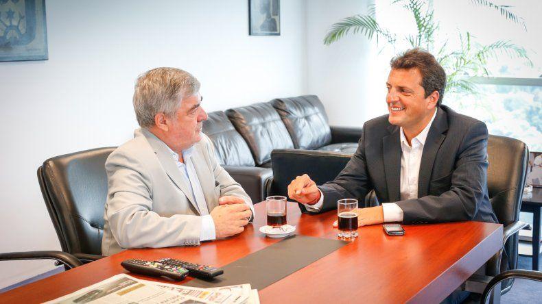 El gobernador se reúne hoy con Massa y mañana con Macri