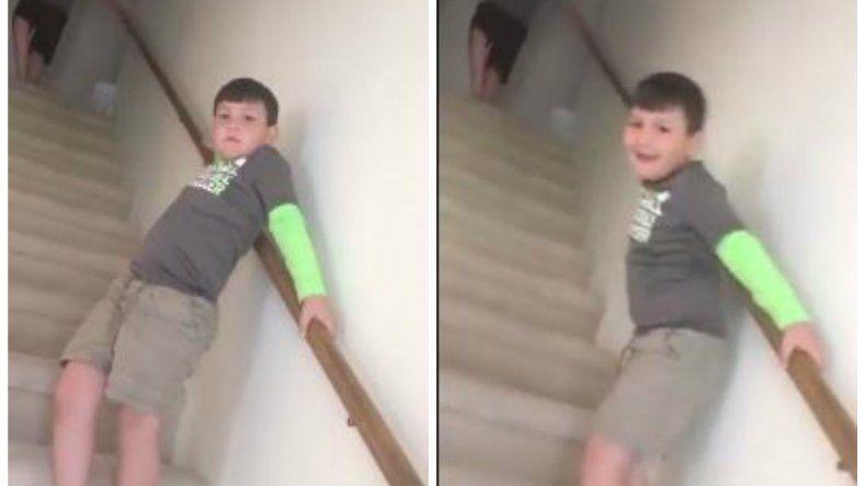 Así reaccionó un nene al enterarse que venció el cáncer