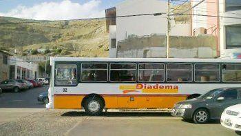 El Transporte Diadema continúa con retención de servicios