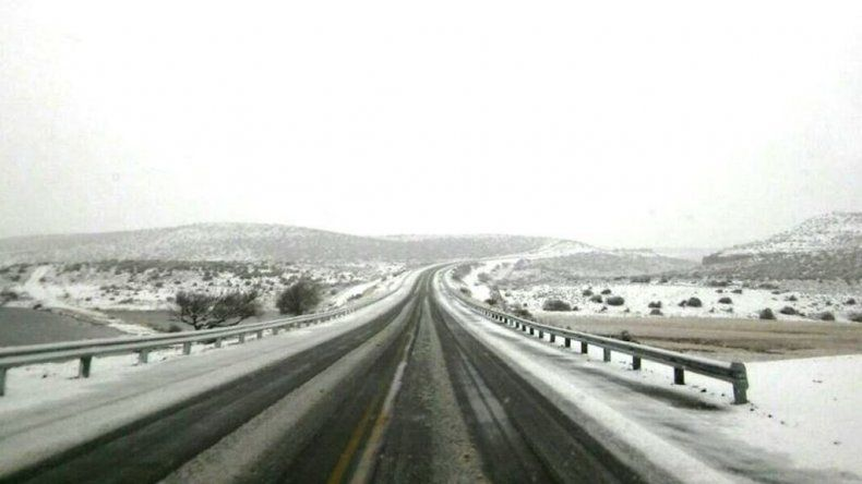 Piden transitar con extrema precaución en las rutas de Chubut