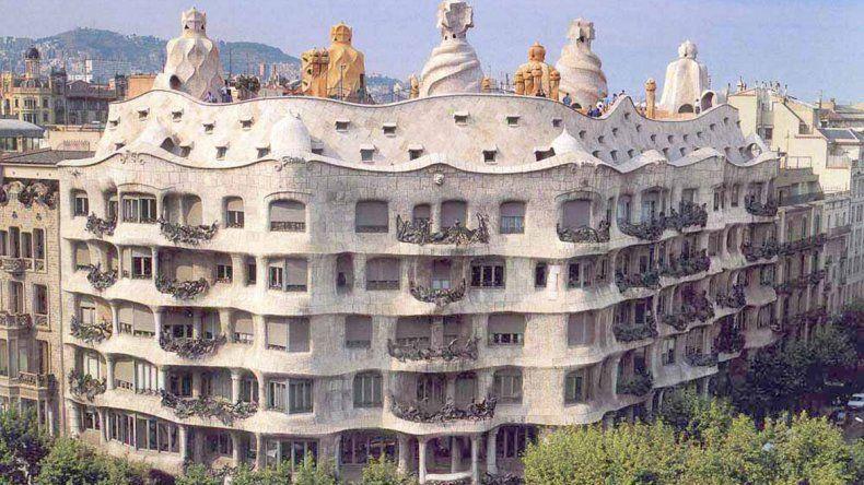 La Pedrera de Gaudí, un imperdible en Barcelona