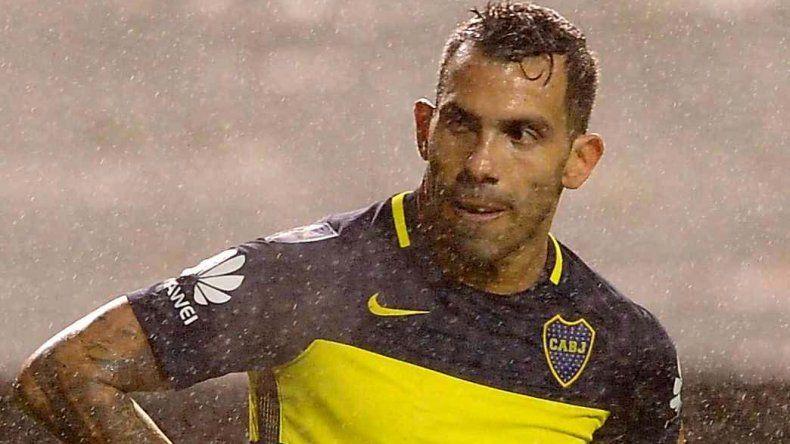 Carlos Tevez mostró un bajísimo rendimiento en Boca en la Copa Libertadores.
