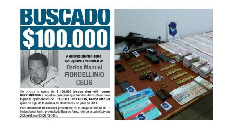 Detuvieron a uno de los narcos más buscados de todo el país