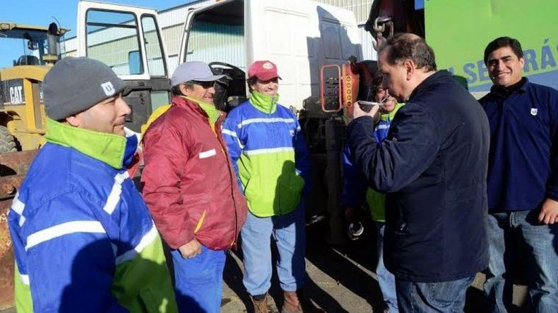 Urbana presentó maquinaria para la erradicación de basurales clandestinos