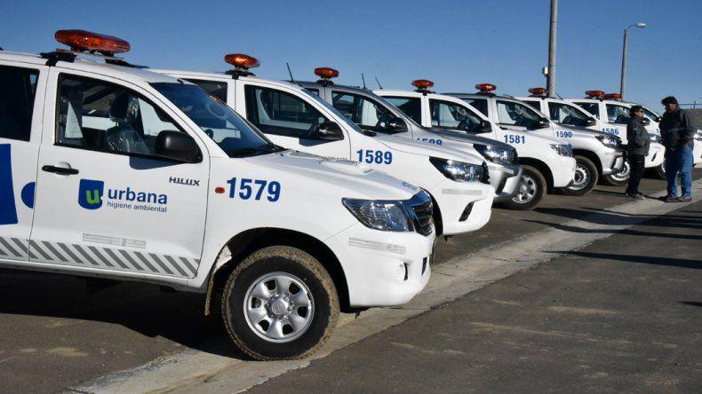 Los nuevos móviles y el galponcito móvil con herramientas permitirán un trabajo más eficiente en calle.