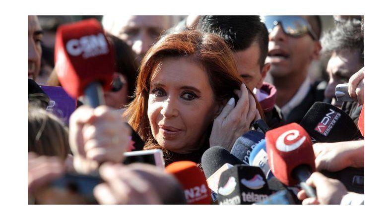 Cristina analiza llevar los casos en su contra a tribunales internacionales