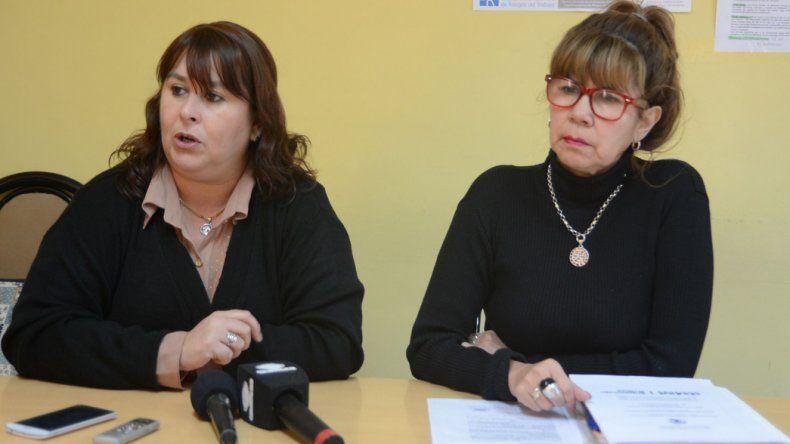 Viviana Traversa y Beatriz Barría dieron detalles del encuentro de adultos mayores.