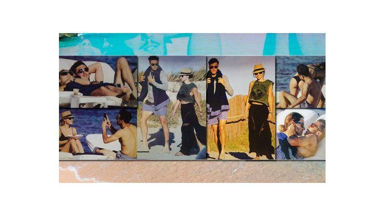 Pampita y Pico Mónaco, nuevamente de vacaciones en Ibiza