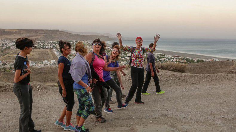 La caminata es de dos horas y media y recorrerá el cerro Punta del Marqués