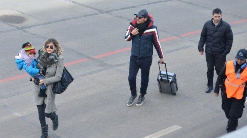 Tinelli y Valdés descansan en Chubut ¡Y compartieron fotos!
