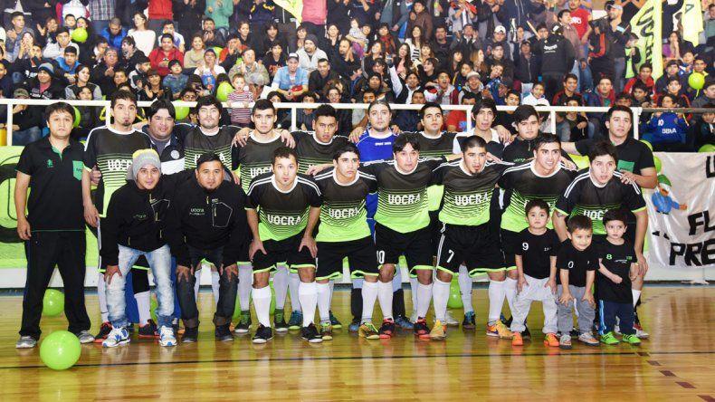 UOCRA volvió a ganar y se coronó campeón del torneo Apertura 2016