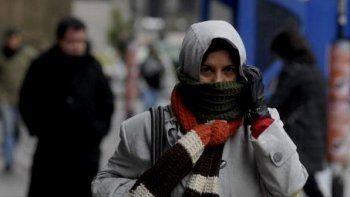 la temperatura sigue en baja: preven una maxima de 10°c