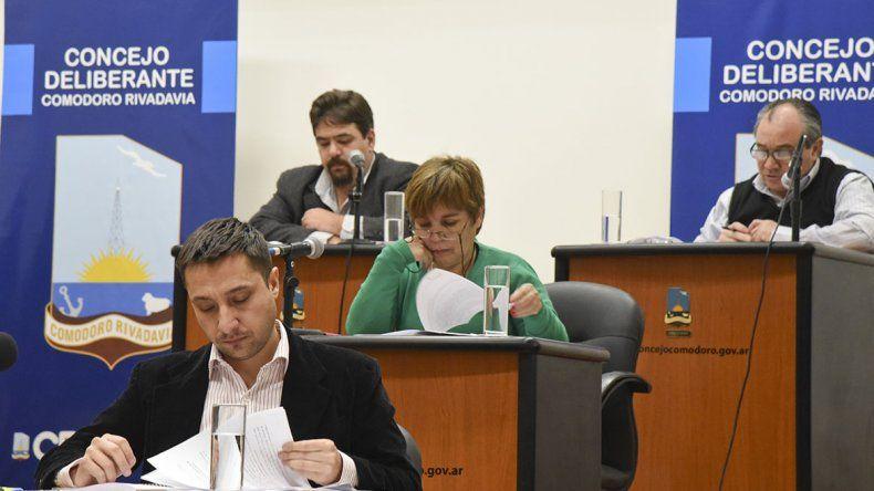 En el Concejo ayer se dio el primer paso para aumentar el boleto en el transporte urbano de pasajeros.