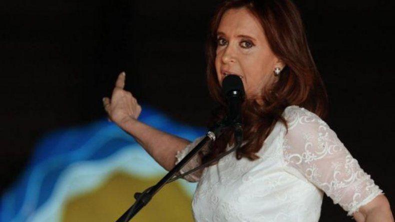 Cristina Kirchner dura contra el Gobierno