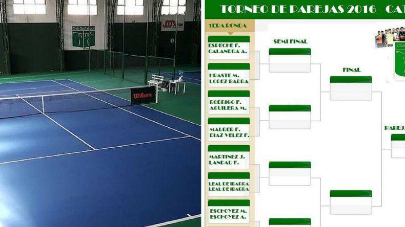 Comienza el torneo por parejas en el Santa Lucía