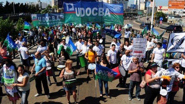 El gremio docente realizará una medida de fuerza en la provincia de Buenos Aires por 48 horas.