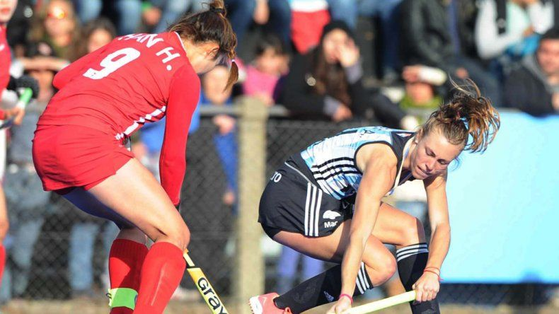 Las chicas argentinas volverán a jugar hoy un amistoso con miras a los Juegos Olímpicos.