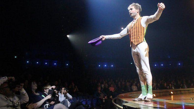 Un comodorense es protagonista del Cirque Du Soleil