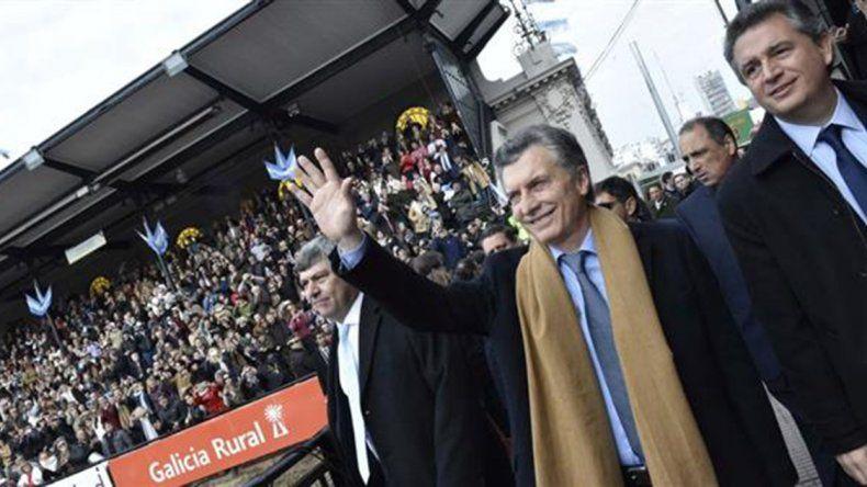 Macri pidió dejar de buscar culpables y encontrar soluciones al participar de la inauguración de la Exposición Rural de Palermo.