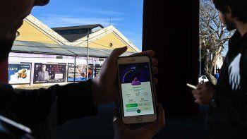 En el Centro de Información Pública funciona uno de los gimnasios de Pokémon Go.
