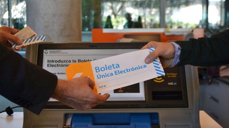 La implementación del voto electrónico es uno de los principales puntos del proyecto de reforma electoral.